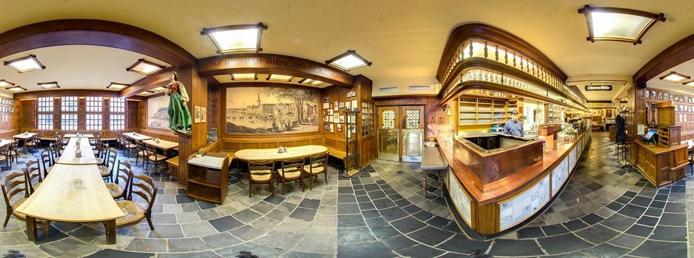 Panorama Brauerei zum Schiffchen - Theke