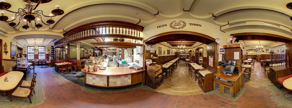 Panoramaaufnahme Brauerei zum Schiffchen