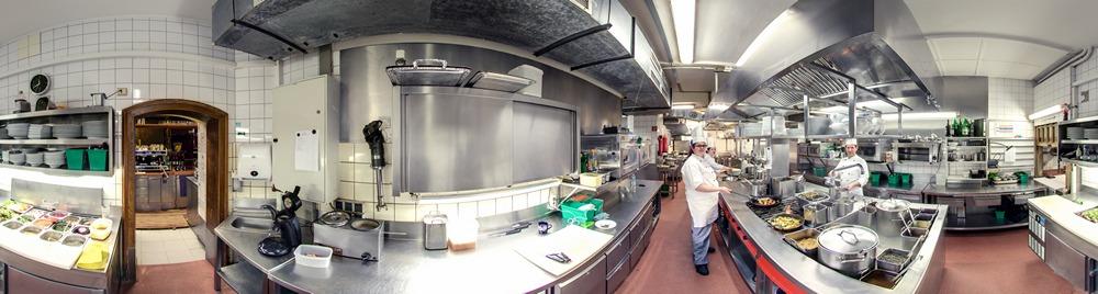 Panorama Brauerei zum Schiffchen - Küche